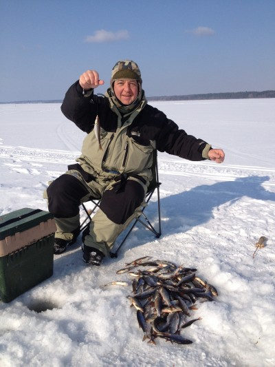 рыбалка на базе отрадное